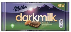 Milka darkmilk Almond