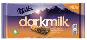 Milka darkmilk Salted Caramel