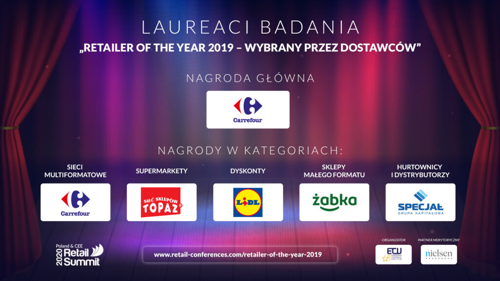 Retailer of the Year 2019 - laureaci