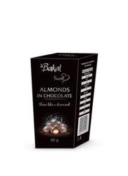 Bakal migdały prażone w czekoladzie srebrne 80 g