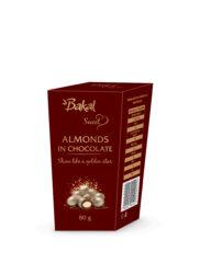 Bakal migdały prażone w czekoladzie złote 80 g