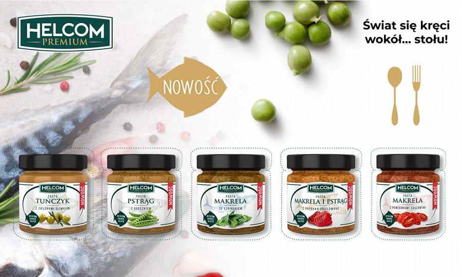Pasty rybne Helcom Premium
